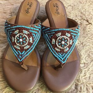 """SOFFT - """"euro soft"""" Leather Sandals"""